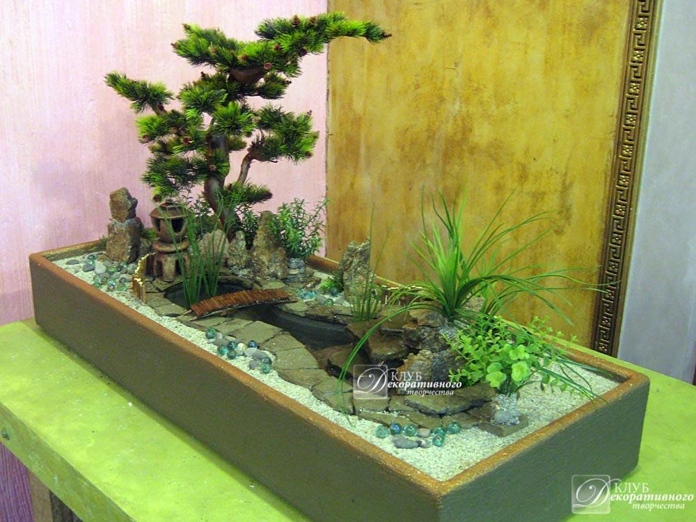 Японский сад на даче своими руками