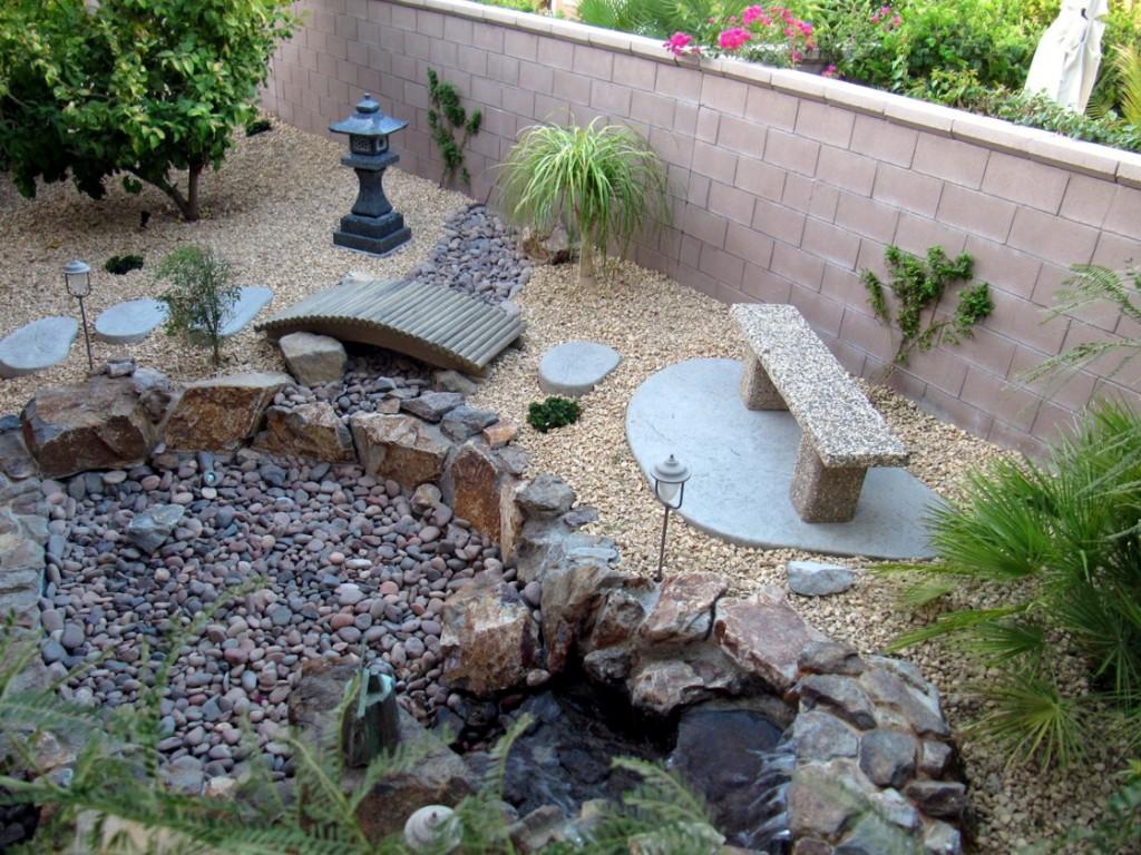 Сад камней на даче своими руками фото